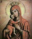 Дубенская (Красногорская) икона Божией Матери
