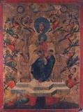 Древо Иесеево ( Мировлитиса) :: Образ Пресвятой Богородицы Корень Иессеев