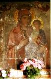 Елеуса (Милостивая, Умиление) с Тремя Глазами :: Икона Пресвятой Богородицы