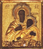 Козельщанская Богоматерь :: Чудотворная икона Божией Матери Козельщанская