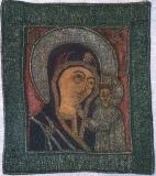 Пелена с Казанской иконой Божией Матери