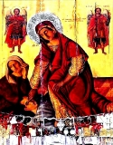Кассиопея Богородица :: Чудо иконы Панагия Кассиопея