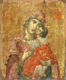Кардиотисса  :: Икона Божией Матери Кардиотисса