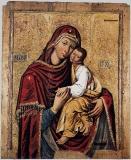 Лиддская Богородица :: Икона Божия Матерь Гликофиуса, Римско-Лиддская