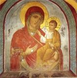Икона Богородицы Пироволифиса (Простреленная)