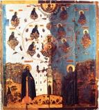 Похвала Богоматери (с Киево-Печерскими чудотворцами)