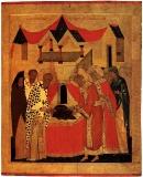 Положение пояса и ризы Богоматери во Влахернском храме