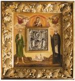 Икона Положения честной Ризы Пресвятой Богородицы