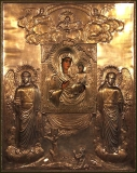 Святогорская Одигитрия :: Псково-Святогорская икона Божией Матери Одигитрия