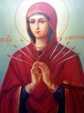 Семистрельная Богоматерь :: Икона Божией Матери