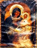 Сирийская (Из Церкви Св. Марка В Иерусалиме) Богородица :: Икона Пресвятой Богородицы
