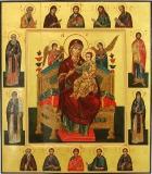 Икона Божией Матери Всецарица.