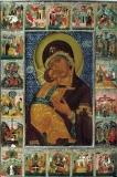 Владимирская икона Богородицы с житием