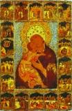 Икона Божией Матери Владимирская со Сказанием
