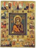 Богоматерь Владимирская с чудесами