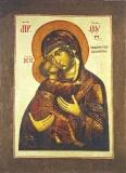 Икона Божией Матери  Владимирская (Ростовская)