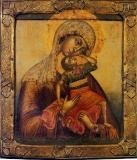 Икона Божией Матери Взыграние Младенца,
