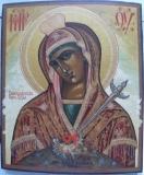 Васильковская Богородица :: икона Божией Матерм Васильковская при храме Святая Вода