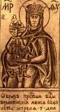 Византийская Богородица :: Византийская икона Божией Матери