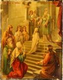 Икона «Введение во храм пресвятой Богородицы».