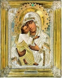 Псково-Печерская икона Божией Матери