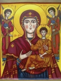 Цилканская икона Божией Матери  со святыми апостолами Петром и Павлом