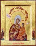 Хлебная икона Богородицы :: Икона Божией Матери