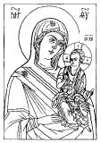 Чирская (Псковская) Богородица :: Чирская (Псковская) икона Божией Матери