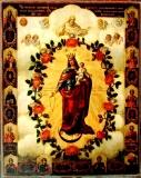 Честнейшая Херувим И Славнейшая Серафим :: Икона Пресвятой Богородицы