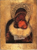 Икона Богоматерь  Ярославская (Умиление).