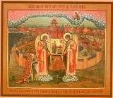 Явление Богородицы Иоанну Овину :: Явление Божией Матери Иоанну Овину