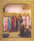 Явление Богородицы Серафиму Саровскому :: Явление Пресвятой Богородицы прп. Серафиму Саровскому