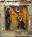 Явление Богородицы Корнилию Комельскому :: Икона Пресвятой Богородицы