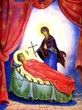 Явление Богородицы св. равноапостольной Нине :: Икона Пресвятой Богородицы