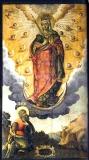 Явление  Богородицы апостолу Андрею на горах Киевских :: Икона Пресвятой Богородицы