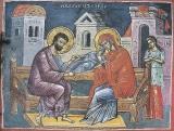 Ласкание младенца Анной и Иоакимом