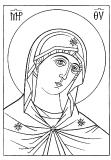 Андроникова Богоматерь :: икона Божией Матери Андрониковская