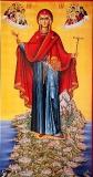 Афонская (Игуменья Святой горы) икона Божией Матери.