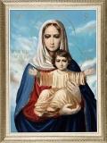 Аз есмь с вами и никтоже на вы :: Икона Богородицы «Азъ есмь съ вами, и никтоже на вы»