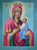 Икона Богородицы Arvanitissa (Αρβανίτισσας) l